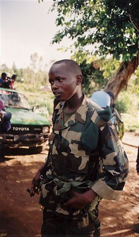Photos of Democratic Republic of Congo during 2003 War