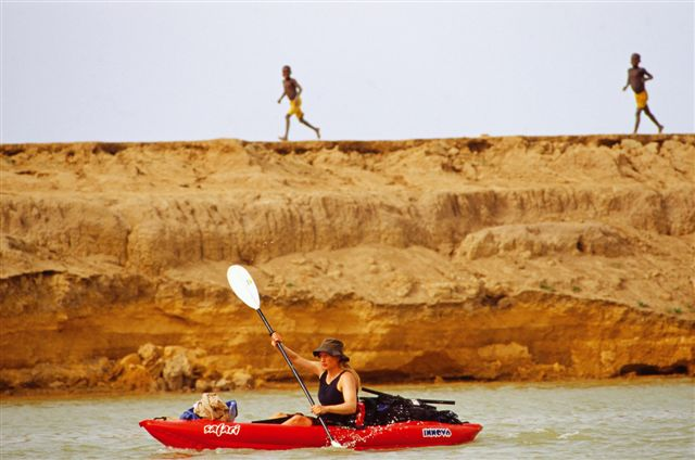 Photos of Kira Salak Kayaking 600 Miles To Timbuktu, Mali