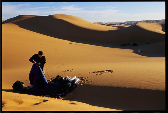 Kira Salak in the Libyan Desert